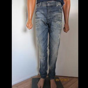 überlegene Materialien zur Freigabe auswählen Großhandel DIESEL TEPPHAR D.N.A Revolution 0830K Jeans Sz. 34 NWT